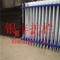 甘肃酒泉弧形护栏间距组装式锌钢栅栏镀锌喷塑 围栏生产厂家