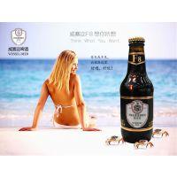 原装进口德国啤酒,威赛迩啤酒250ml瓶装德国黑啤酒经销批发