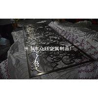 佛山激光雕花镂空隔断屏风生产厂家 青古铜不锈钢屏风隔断制品