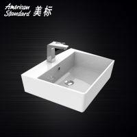 美标卫浴 CP-F612 博方陶瓷碗盆/台上盆/台盆/洗手盆/艺术盆 500mm带龙头安装孔