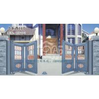 欧雅斯别墅庭院折叠门 铝艺大门 欧式别墅大门、欧式铝合金自动庭院门