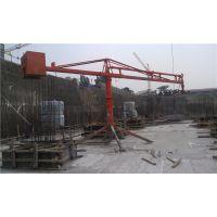 广东清远鑫旺HG15型建筑楼层回转浇筑布料机操作可靠灵活