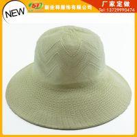 外贸出口厂家直销 波西米亚时尚海边渡假遮阳帽 大沿沙滩草帽