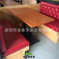 热销连锁餐厅餐桌椅 大理石餐桌组合批发