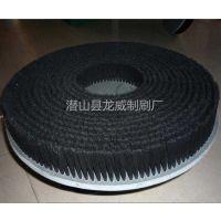 厂家定制猪鬃圆盘刷 抗耐磨机械抛光机PVC板研磨毛刷
