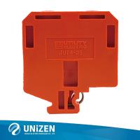 领臻电气 H2601大平方螺钉贯通端子 JUT4-35贯通端子