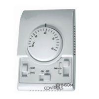 江森原装温度控制器/江森正品温控面板/美国江森机械式温控器