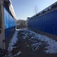 黑龙江大庆耐寒猪场专用卷帘布、三防养殖场保温卷帘布、产业用布批发与加工