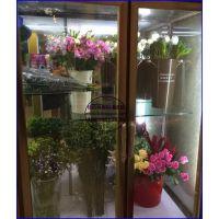 玫瑰花百合花保鲜温度,天津平移玻璃门鲜花柜供应,1.8米风冷鲜花柜报价
