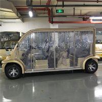 锡牛 自卷式电动车遮阳窗帘,专业定做观光车遮阳帘遮雨帘