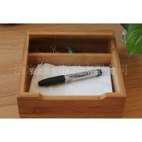供应厂家直销 环保 竹制文件盒 竹制资料盒  文件盒 资料盒 便签盒
