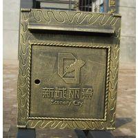 烤漆信箱、仿古信报箱、欧式信箱、别墅式信报箱、定制加工信报箱