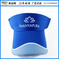 2015新款夏季空顶帽 男女夏天旅游遮阳太阳帽 logo刺绣运动网球帽