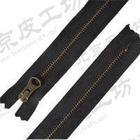 17厘米日本YKK拉链-古铜齿黑色-172451-4