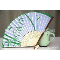 厂家定制2015年新货促销礼品竹纸扇子 欢迎新老客户致电咨询