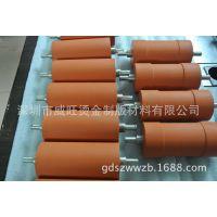 专业制作厂家直销大量含铁芯硅胶轮 热转印耐高温硅胶轮 胶辊包胶
