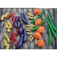 仿真水果蔬菜塑料仿真水果藤条 儿童仿真水果模型道具装饰批发