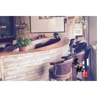 木质船型吧台酒桌 景观装饰船 木质船型吧台 餐厅木制船型餐桌