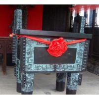 西安开业庆典大摆件陕西大龙鼎马到成功大摆件树脂工艺品青铜摆件