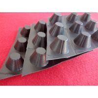 HDPE塑料排水板施工技术 1400g卷材排水板润泽直销