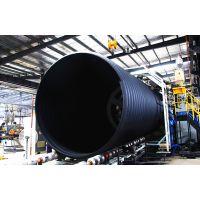 长沙天卓DN2800超大口径HDPE钢带增强螺旋波纹管SN8级~SN16级
