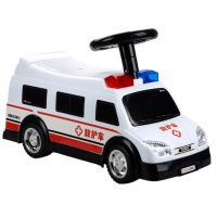 儿童助力学步车 乘用仿真模型车 儿童早教救护车 电动玩具车批发