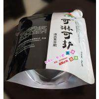 厂家直销有机肥/糖蜜浓缩液/废糖蜜/氨基酸液体肥料吸嘴自立袋 4L5KG手提铝箔袋