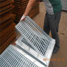 旺来钢制格栅板 镀锌格栅板价格 钢网格板