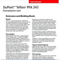 现货供应美国杜邦340不粘性PFA氟塑料挤出级