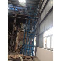 南宁厂房简易货梯安装 广西升降机厂家定做3吨液压升降台带链条