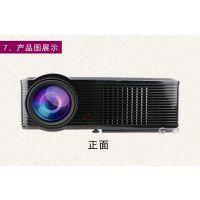 投迪清TDQ-18家用商务办公教学投影仪LCD正投高清投影机