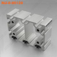 上海重载铝材低价销售MJ-8-80120铝材6063-T5材质铝型材
