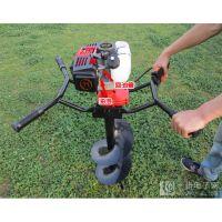 小本创业好帮手新型便携式树苗种植挖坑机