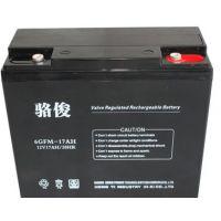 骆俊12v17AH ups电源蓄电池价格