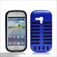 手机壳加工厂热销 i8190麦克风手机壳 三星麦克风手机保护套