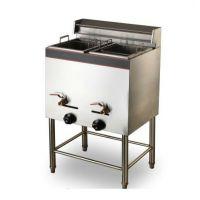 【王子西厨】DF-74立式单缸双筛燃气炸炉|油炸炉|油炸锅|电炸锅