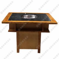 海德利厂家直销无烟火锅桌餐桌椅子套布艺专业定做桌椅板凳批发市场餐桌餐椅钢化玻璃组合批发代理