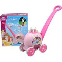 迪士尼公主电动泡泡手推车自动泡泡机儿童玩具 魔幻泡泡秀加盟 淘气堡加盟