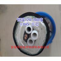 广州伴热管线厂家三芯伴热管120-180度烟气采样管-安徽华阳专业制造