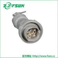 富森 大电流插头3/4/5芯 工业插座16A低压插头插座防水连接器