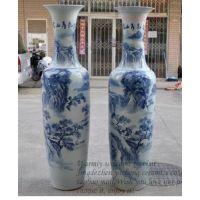 供应西安落地陶瓷大花瓶 西安乔迁礼品陶瓷大花瓶 西安陶瓷大花瓶销售