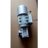 精密机械凸轮分割常用铝合金涡轮减速机RV050/50-F2 YEJ8024-0.75KW