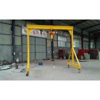 怀鸽为您设计制作节省空间,提高劳动效率的轻型龙门吊架-室内龙门吊-模具吊