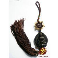 木雕礼品车挂件佩饰首饰 守护神佛祖菩萨保佑护身符乌木挂饰