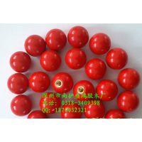 红色黑色胶木球 手柄球 塑料圆球 铁扣铜扣螺纹M6 M8 M10 M12 M16