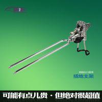 雷焱 全金属 手竿海竿两用长竿万向支架出口韩国 架杆器炮台支架