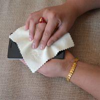 天然麂皮液晶数码镜头手机屏幕擦布双面绒真皮清洁保养用品麂皮巾
