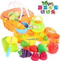 正品贝恩施蔬菜水果切切看 儿童过家家玩具套装 四喜人热销玩具