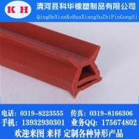 厂家供应 O型硅胶密封条 耐高温硅胶发泡条 食品级硅胶密封条