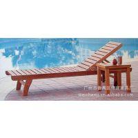 热卖 休闲 户外实木沙滩椅 厂家直销 可以定做多款 款式多样